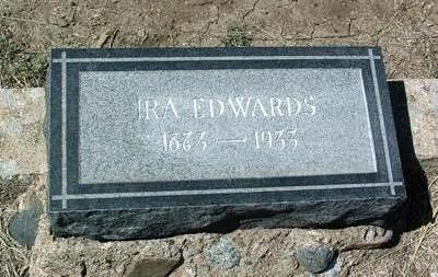 EDWARDS, IRA - Yavapai County, Arizona | IRA EDWARDS - Arizona Gravestone Photos