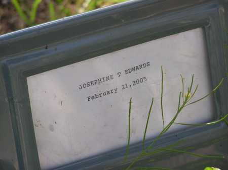EDWARDS, JOSEPHINE TREASE - Yavapai County, Arizona | JOSEPHINE TREASE EDWARDS - Arizona Gravestone Photos