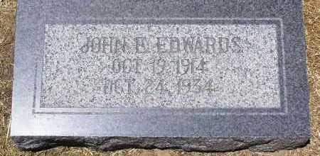 EDWARDS, JOHN EDDIE - Yavapai County, Arizona | JOHN EDDIE EDWARDS - Arizona Gravestone Photos