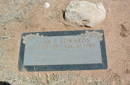 EDWARDS, JOAN FRANCES - Yavapai County, Arizona | JOAN FRANCES EDWARDS - Arizona Gravestone Photos