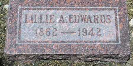 ALLEN EDWARDS, LILLIE A. - Yavapai County, Arizona | LILLIE A. ALLEN EDWARDS - Arizona Gravestone Photos