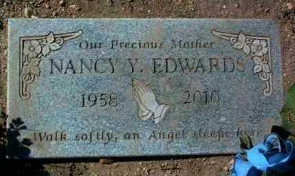 EDWARDS, NANCY Y. - Yavapai County, Arizona   NANCY Y. EDWARDS - Arizona Gravestone Photos