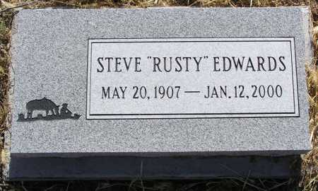 EDWARDS, STEVE (RUSTY) - Yavapai County, Arizona | STEVE (RUSTY) EDWARDS - Arizona Gravestone Photos
