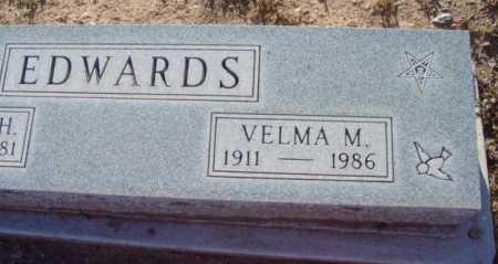 EDWARDS, VELMA MARJORIE - Yavapai County, Arizona   VELMA MARJORIE EDWARDS - Arizona Gravestone Photos