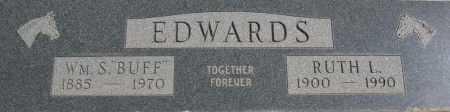 EDWARDS, WILLIAM SEBIRD (BUFF) - Yavapai County, Arizona | WILLIAM SEBIRD (BUFF) EDWARDS - Arizona Gravestone Photos