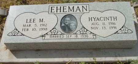 EHEMAN, HYACINTH - Yavapai County, Arizona | HYACINTH EHEMAN - Arizona Gravestone Photos