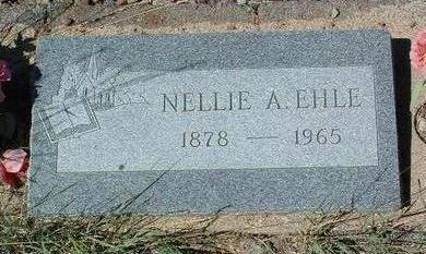 EHLE, NELLIE A. - Yavapai County, Arizona | NELLIE A. EHLE - Arizona Gravestone Photos