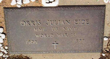 EIDE, ORRIS JULIAN - Yavapai County, Arizona | ORRIS JULIAN EIDE - Arizona Gravestone Photos