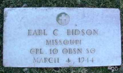 EIDSON, EARL C. - Yavapai County, Arizona | EARL C. EIDSON - Arizona Gravestone Photos