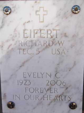 EIFERT, RICHARD WILLIAM - Yavapai County, Arizona   RICHARD WILLIAM EIFERT - Arizona Gravestone Photos