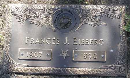 EISBERG, FRANCES JANE - Yavapai County, Arizona | FRANCES JANE EISBERG - Arizona Gravestone Photos