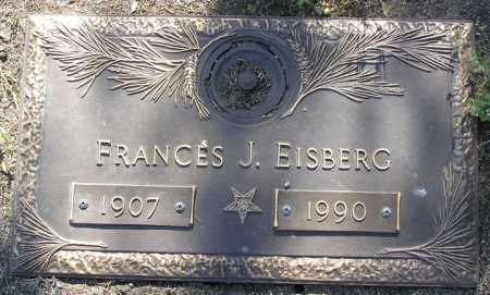 EISBERG, FRANCES JANE - Yavapai County, Arizona | FRANCES JANE EISBERG - Arizona Gravestone Photos