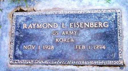 EISENBERG, RAYMOND L. - Yavapai County, Arizona | RAYMOND L. EISENBERG - Arizona Gravestone Photos
