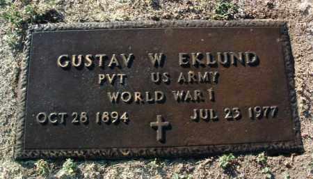 EKLUND, GUSTAV W. - Yavapai County, Arizona | GUSTAV W. EKLUND - Arizona Gravestone Photos