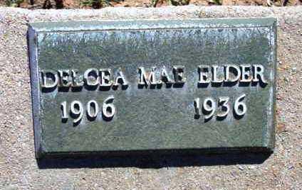TINNIN ELDER, DELCEA MAE - Yavapai County, Arizona | DELCEA MAE TINNIN ELDER - Arizona Gravestone Photos