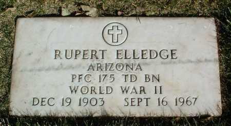 ELLEDGE, RUPERT - Yavapai County, Arizona | RUPERT ELLEDGE - Arizona Gravestone Photos