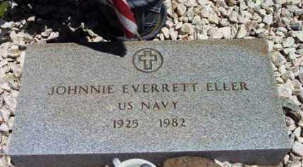 ELLER, JOHNNIE EVERETT - Yavapai County, Arizona | JOHNNIE EVERETT ELLER - Arizona Gravestone Photos