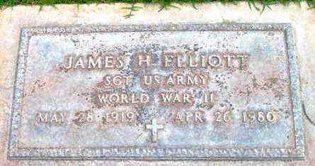 ELLIOTT, JAMES H. - Yavapai County, Arizona | JAMES H. ELLIOTT - Arizona Gravestone Photos