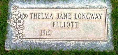 ELLIOTT, THELMA JANE - Yavapai County, Arizona | THELMA JANE ELLIOTT - Arizona Gravestone Photos