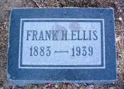 ELLIS, FRANK HARRY - Yavapai County, Arizona | FRANK HARRY ELLIS - Arizona Gravestone Photos