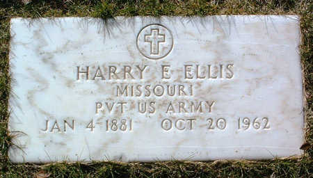 ELLIS, HARRY E. - Yavapai County, Arizona   HARRY E. ELLIS - Arizona Gravestone Photos