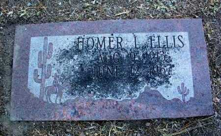 ELLIS, HOMER L. - Yavapai County, Arizona   HOMER L. ELLIS - Arizona Gravestone Photos