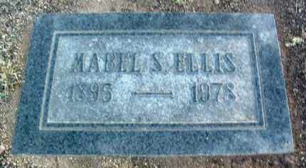 ELLIS, MABEL S. - Yavapai County, Arizona | MABEL S. ELLIS - Arizona Gravestone Photos
