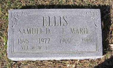 ELLIS, SAMUEL DEWEY - Yavapai County, Arizona   SAMUEL DEWEY ELLIS - Arizona Gravestone Photos