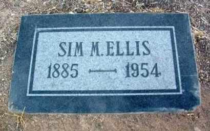 ELLIS, SIMON MAKENSON (SIM) - Yavapai County, Arizona   SIMON MAKENSON (SIM) ELLIS - Arizona Gravestone Photos
