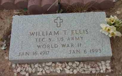 ELLIS, WILLIAM THOMAS - Yavapai County, Arizona | WILLIAM THOMAS ELLIS - Arizona Gravestone Photos