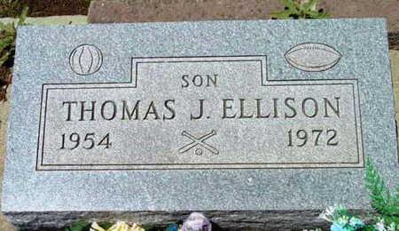 ELLISON, THOMAS J. - Yavapai County, Arizona   THOMAS J. ELLISON - Arizona Gravestone Photos