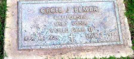 ELMER, CECIL JEDSON - Yavapai County, Arizona   CECIL JEDSON ELMER - Arizona Gravestone Photos