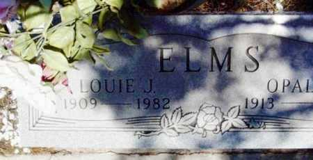 ELMS, LOUIE JAMES - Yavapai County, Arizona | LOUIE JAMES ELMS - Arizona Gravestone Photos