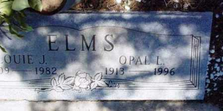 ELMS, OPAL LOU - Yavapai County, Arizona | OPAL LOU ELMS - Arizona Gravestone Photos