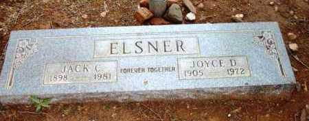 ELSNER, JACK CLEMENT - Yavapai County, Arizona | JACK CLEMENT ELSNER - Arizona Gravestone Photos