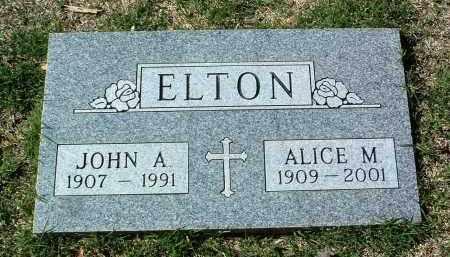 ELTON, ALICE M. - Yavapai County, Arizona | ALICE M. ELTON - Arizona Gravestone Photos