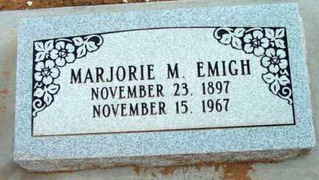 EMIGH, MARJORIE M. - Yavapai County, Arizona | MARJORIE M. EMIGH - Arizona Gravestone Photos