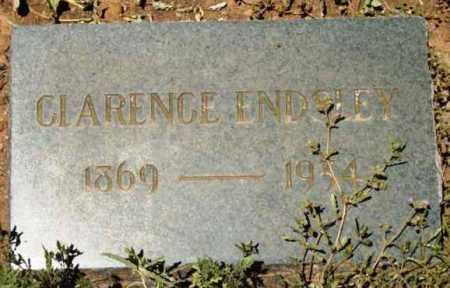 ENDSLEY, CLARENCE - Yavapai County, Arizona | CLARENCE ENDSLEY - Arizona Gravestone Photos