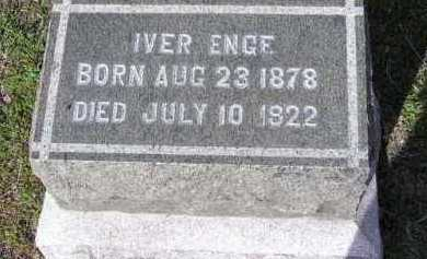 ENGE, IVER - Yavapai County, Arizona   IVER ENGE - Arizona Gravestone Photos