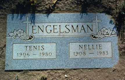 ENGELSMAN, NELLIE - Yavapai County, Arizona | NELLIE ENGELSMAN - Arizona Gravestone Photos