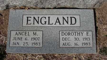 ENGLAND, DOROTHY E. - Yavapai County, Arizona | DOROTHY E. ENGLAND - Arizona Gravestone Photos