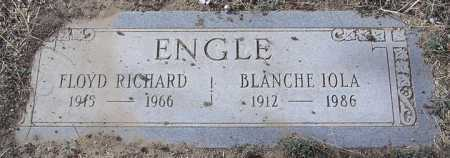ENGLE, BLANCHE IOLA - Yavapai County, Arizona   BLANCHE IOLA ENGLE - Arizona Gravestone Photos