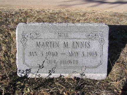 ENNIS, MARTIN MICHAEL - Yavapai County, Arizona | MARTIN MICHAEL ENNIS - Arizona Gravestone Photos
