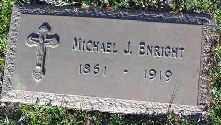 ENRIGHT, MICHAEL J. - Yavapai County, Arizona   MICHAEL J. ENRIGHT - Arizona Gravestone Photos