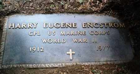 ENGSTROM, HARRY EUGENE - Yavapai County, Arizona   HARRY EUGENE ENGSTROM - Arizona Gravestone Photos