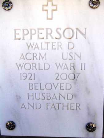 EPPERSON, WALTER DEVON - Yavapai County, Arizona | WALTER DEVON EPPERSON - Arizona Gravestone Photos