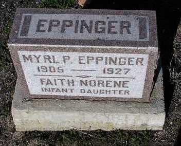 EPPINGER, FAITH NORENE - Yavapai County, Arizona   FAITH NORENE EPPINGER - Arizona Gravestone Photos