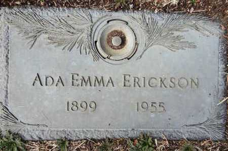 ERICKSON, ADA EMMA - Yavapai County, Arizona | ADA EMMA ERICKSON - Arizona Gravestone Photos
