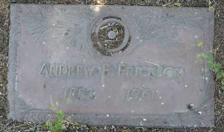 ERICKSON, ANDREW EDWARD - Yavapai County, Arizona | ANDREW EDWARD ERICKSON - Arizona Gravestone Photos