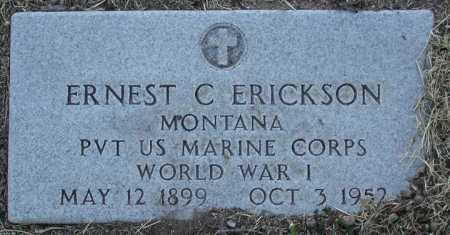 ERICKSON, ERNEST CLARENCE - Yavapai County, Arizona | ERNEST CLARENCE ERICKSON - Arizona Gravestone Photos